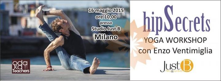 Partecipa al workshop per sperimentare l'importanza dell'apertura delle anche nello Yoga