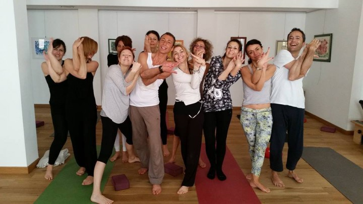 Splendido workshop yoga a Milano con Enzo Ventimiglia