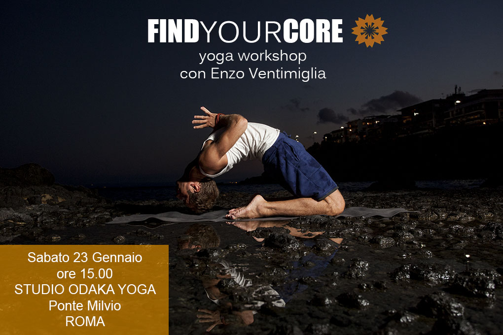 Find your core, workshop yoga