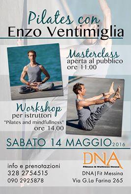 Workshop Pilates Messina con Enzo Ventimiglia