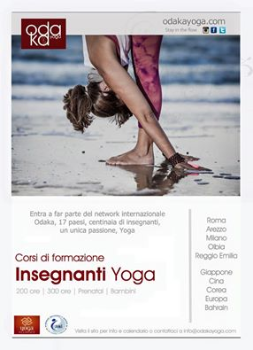 I teacher training Odaka Yoga in Italia