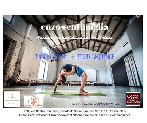 In Sardegna il workshop di yoga Fascia Flow