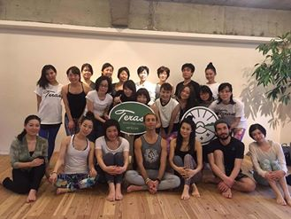 Una tappa dello yoga Japan tour