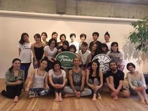 A marzo 2017 in Giappone per uno yoga tour